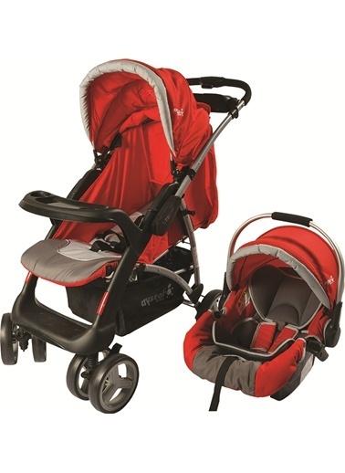 Crystal Baby Crystal Baby 270 Life T/S Bebek Arabası  Kırmızı